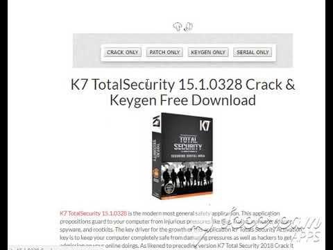 k7 total security crack keygen free download