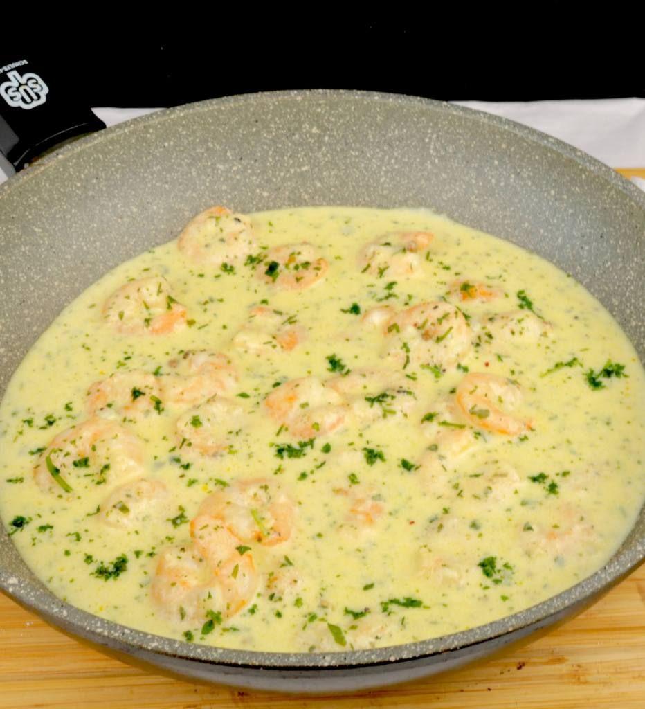 Knoblauch Parmesan Garnelen Pfanne #garlicshrimprecipes