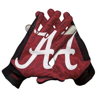 Cheap For Sale 92e12 Fd05f Alabama Youth Football Gloves Elkhabar