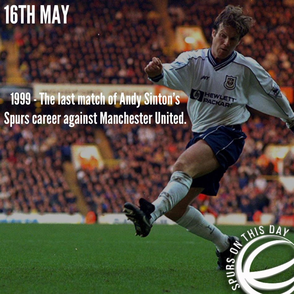 Spurs On This Day - 16th May  #THFC