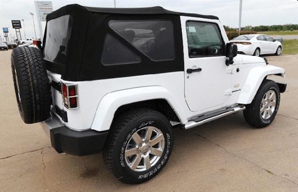 2013 jeep wrangler soft top