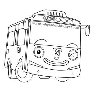 Lihat Mewarnai Tayo Bus Gambar Di Kumpulan Gambar Lucu Kumpulan