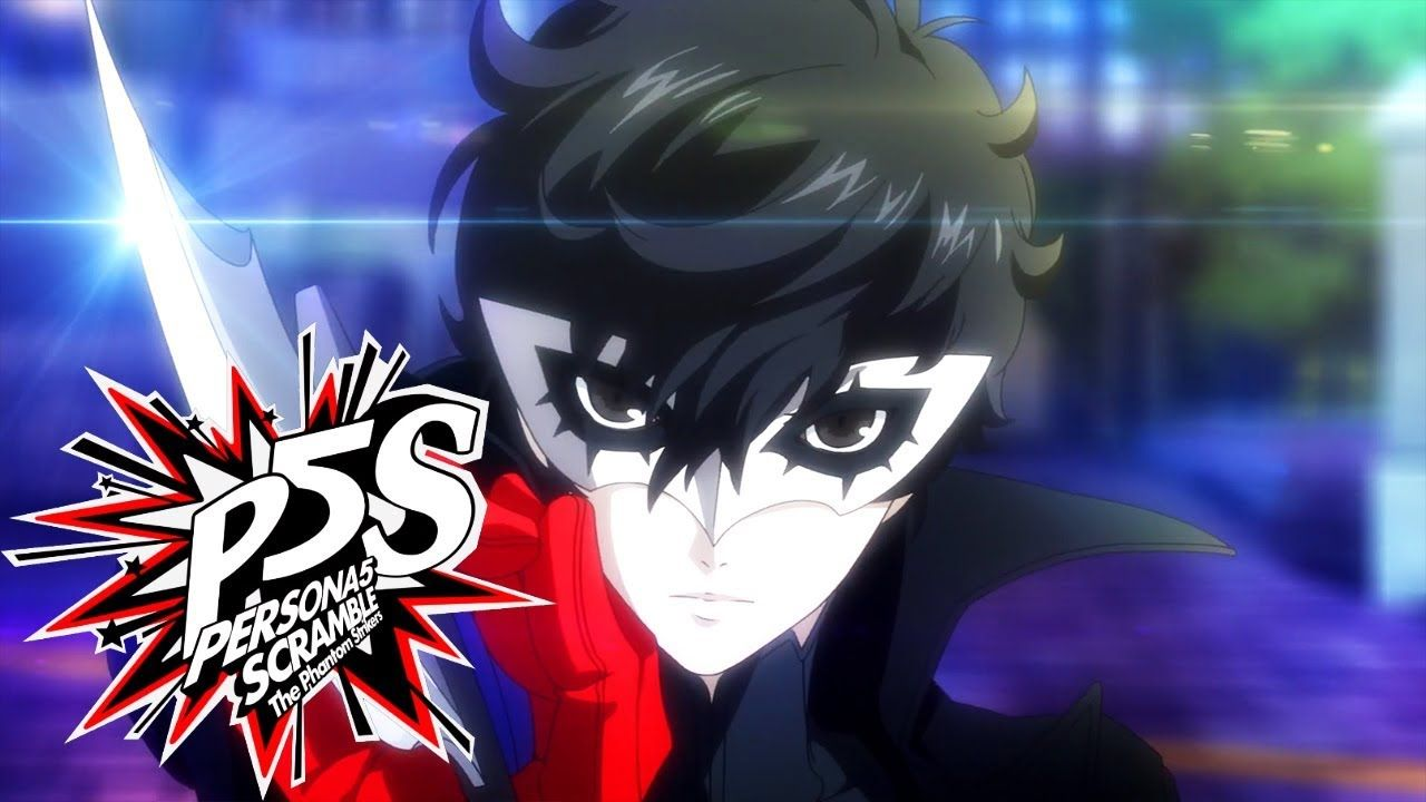 Persona 5 Scramble Official Japanese Trailer Persona 5