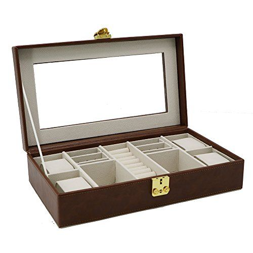 https://zenmerchandiser.com/shop/elegant-2-tone-faux-leather-clear-glass-brown-large-mens-jewelry-box/