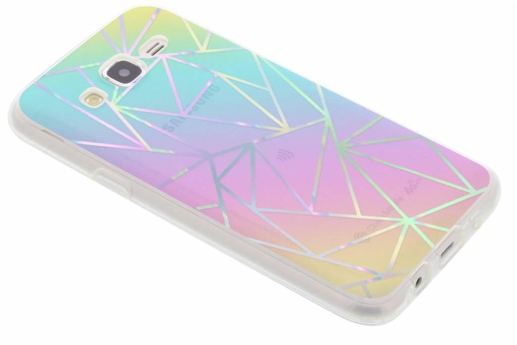 Cas Unicorn Holographique Pour Samsung Galaxy J5 rC0iuBqm5O