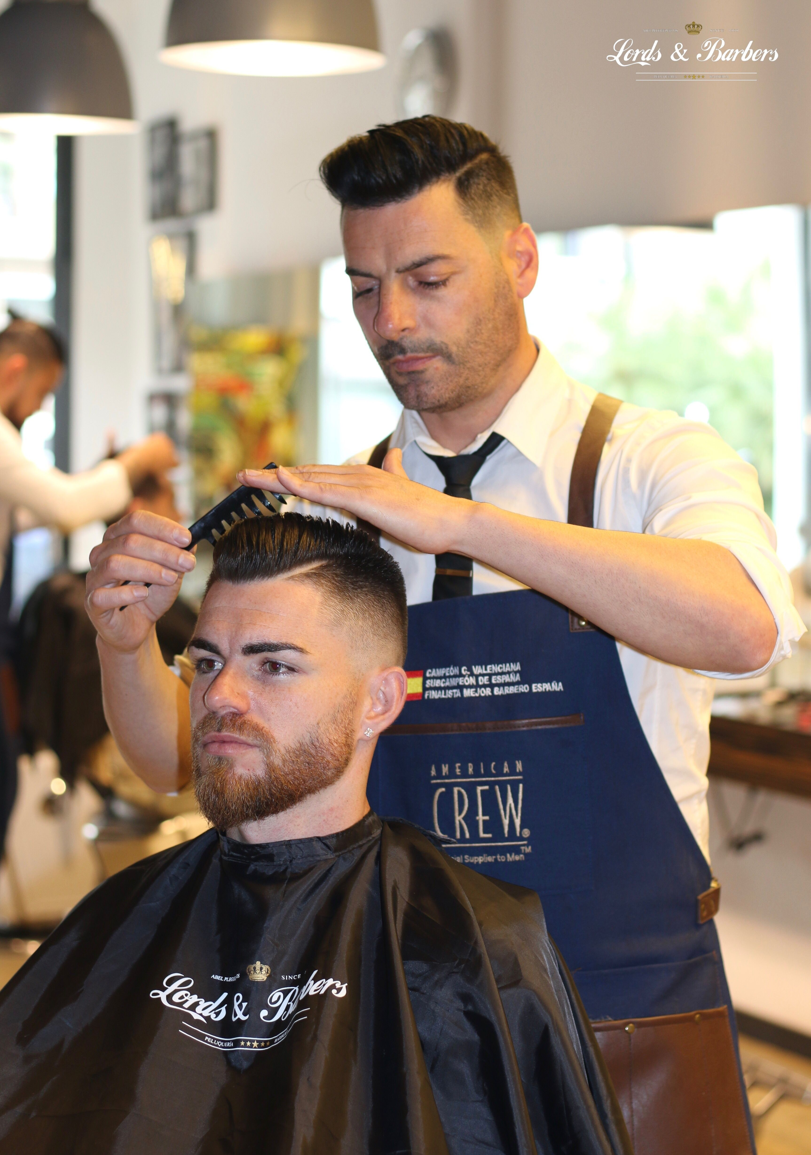 Pin En Lords And Barbers