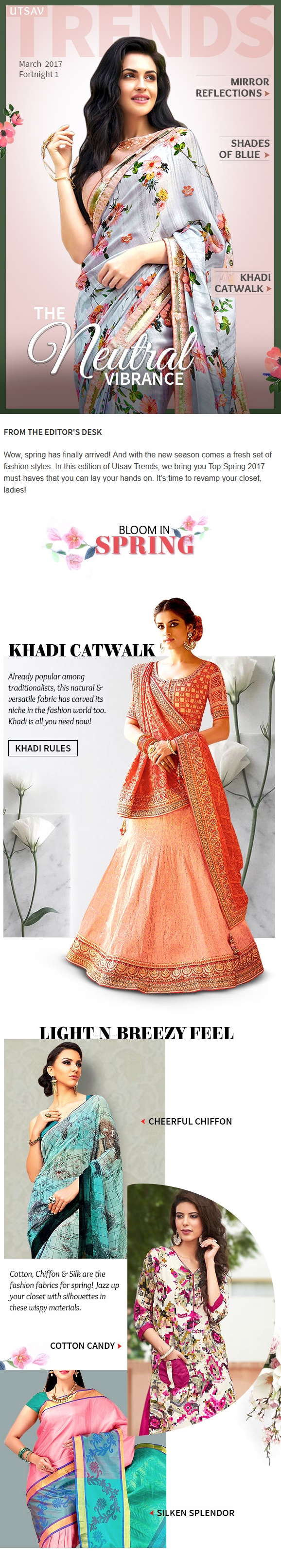 Presenting the latest trends with neutral shades khadi mirror work