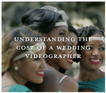 Why does a wedding videographer cost so much? Wedding