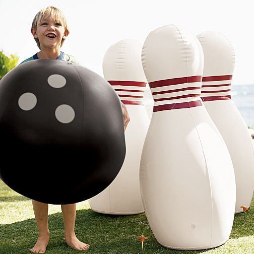Jumbo Inflatable Bowling Ball And Pins Bowling Outdoor Games For Kids Bowling Ball