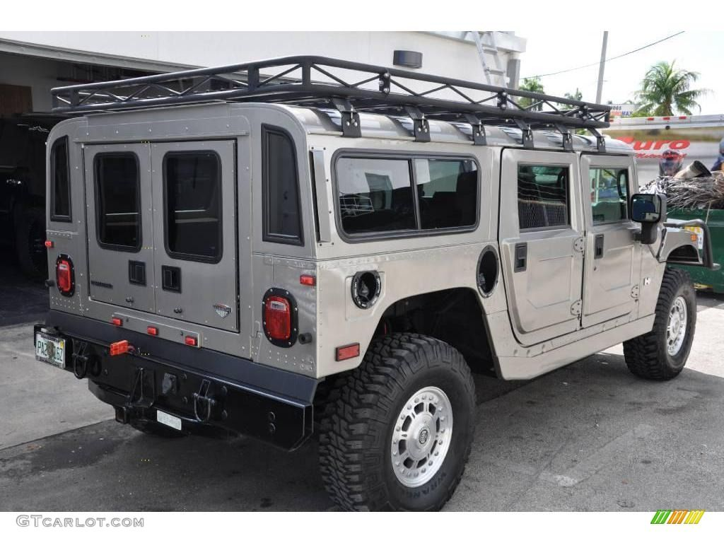 2006 H1 Alpha Wagon Metallic Pewter Ebony Brown Photo 4 Hummer H1 Hummer Expedition Vehicle