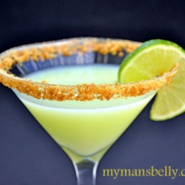 Key Lime Martini. Get The Party Started With This Key Lime
