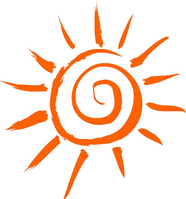 Free Image On Pixabay Sun Orange Design Simple Sun Tattoo Sun Clip Art Sun Tattoo