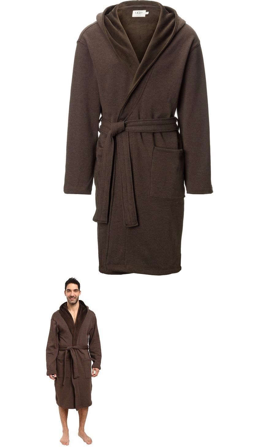 Sleepwear and Robes 11510  Men S Ugg Australia Brunswick Brown Stout Robe L  Xl Nwt -  BUY IT NOW ONLY   80 on eBay!  66d440025