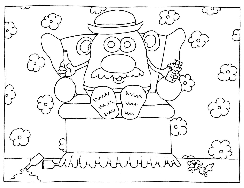 Mr Potato Head Couch Potato