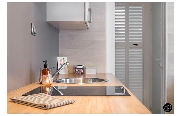 Images appartement moderne à Paris  un petit espace qui illustre la