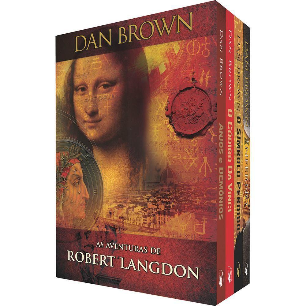 Livro Box As Aventuras De Robert Langdon Edicao Economica
