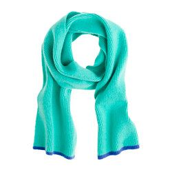 Boys' tipped cashmere scarf