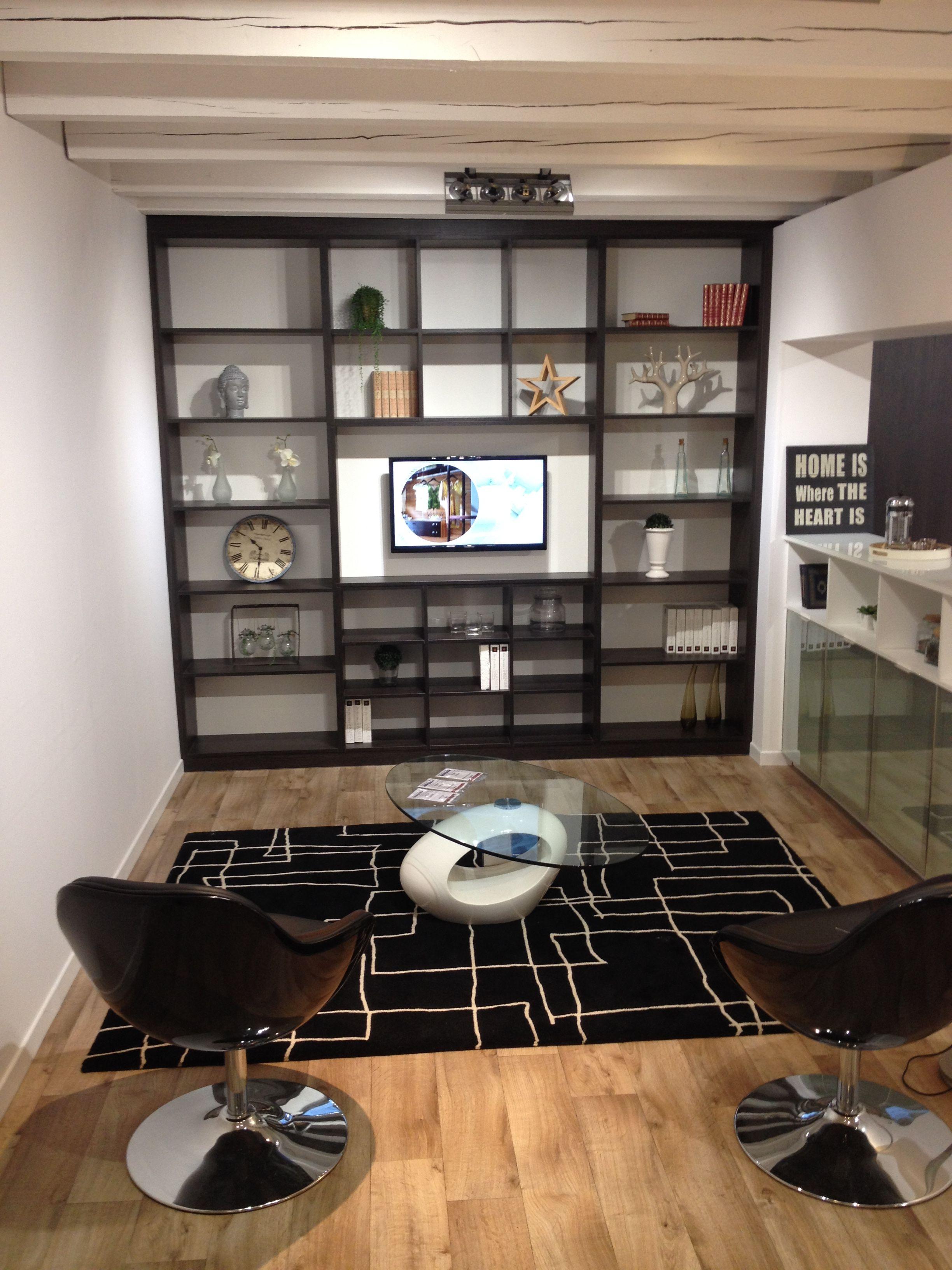 ensemble meuble tv bibliotheque tv