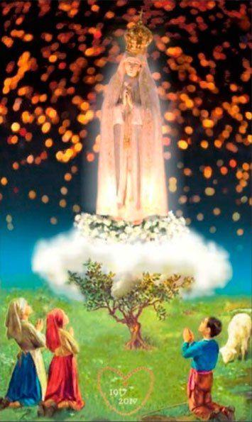 Virgen De Fatima En 2020 Oraciones Religiosas Oracion A La