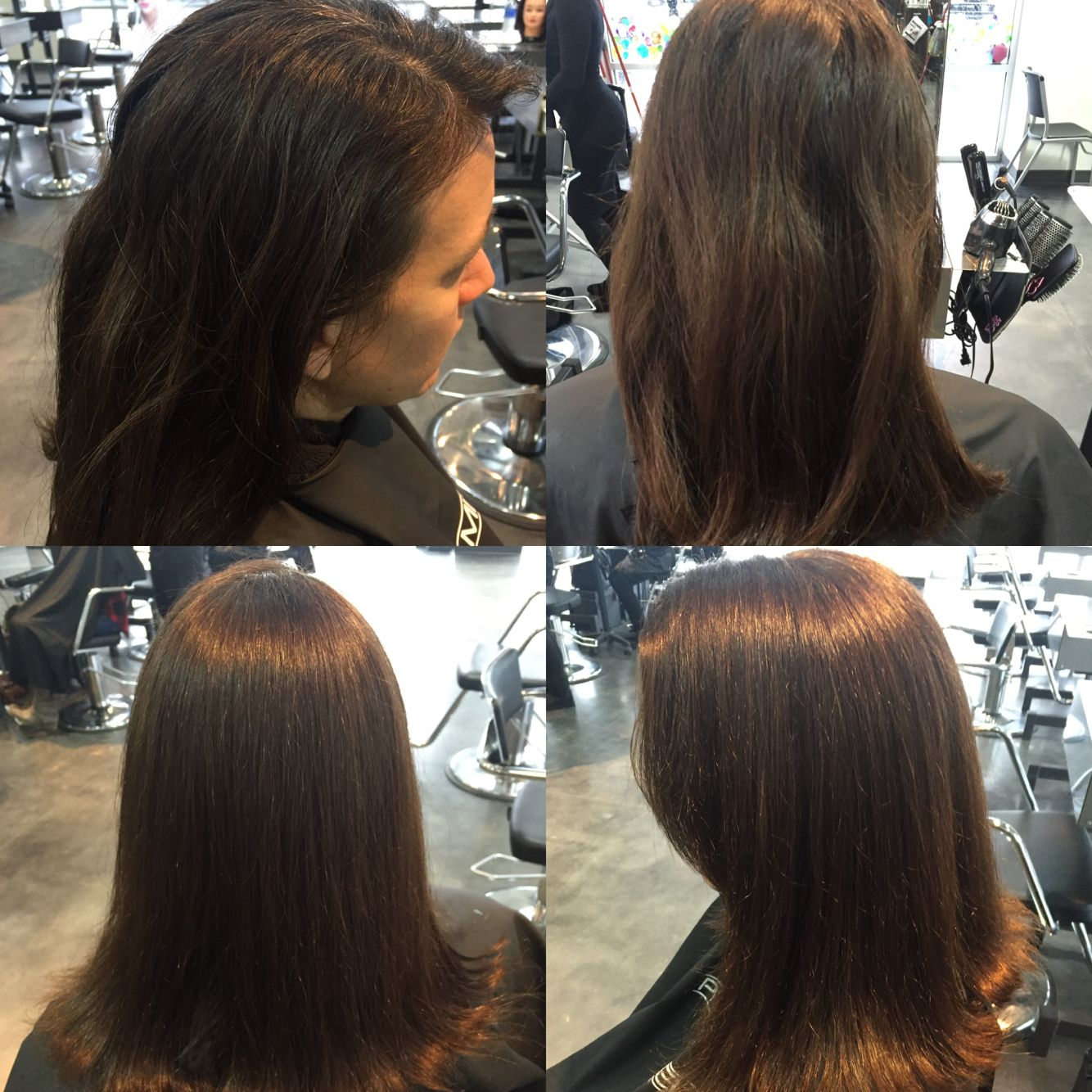 Color Retouch And Tri One Length