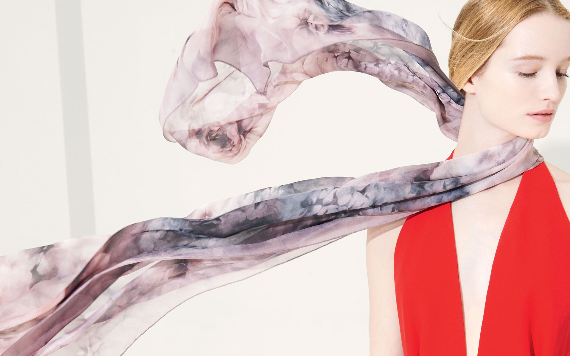 Valentino silk fall-winter 2013-14