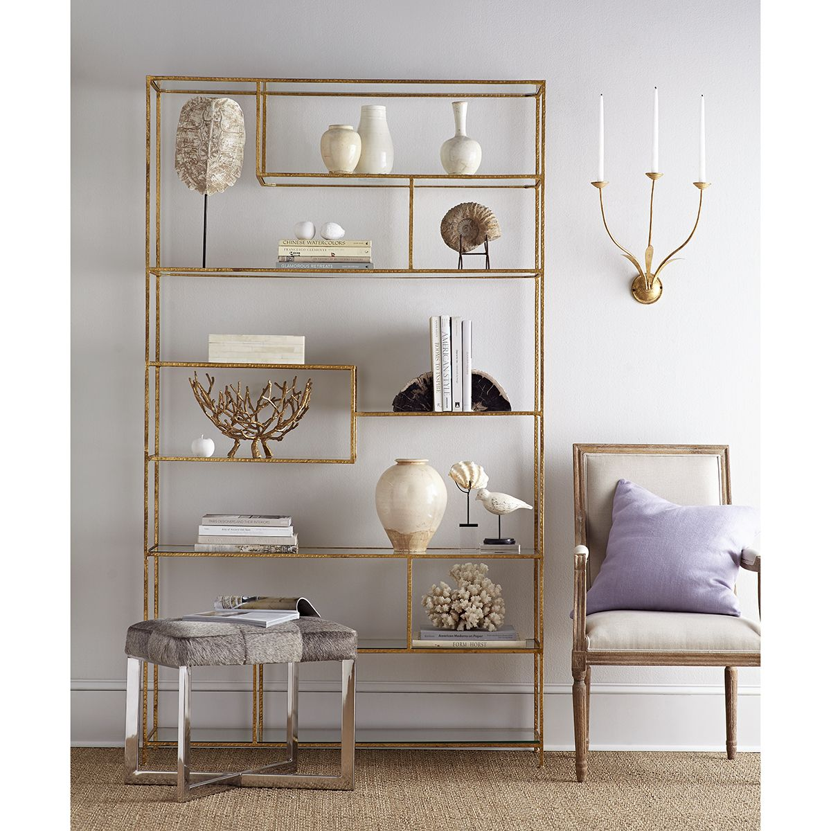 Elegant Tag Re Living Rooms Bookcase Styling And Shelves # Muebles Tubulares Ponce