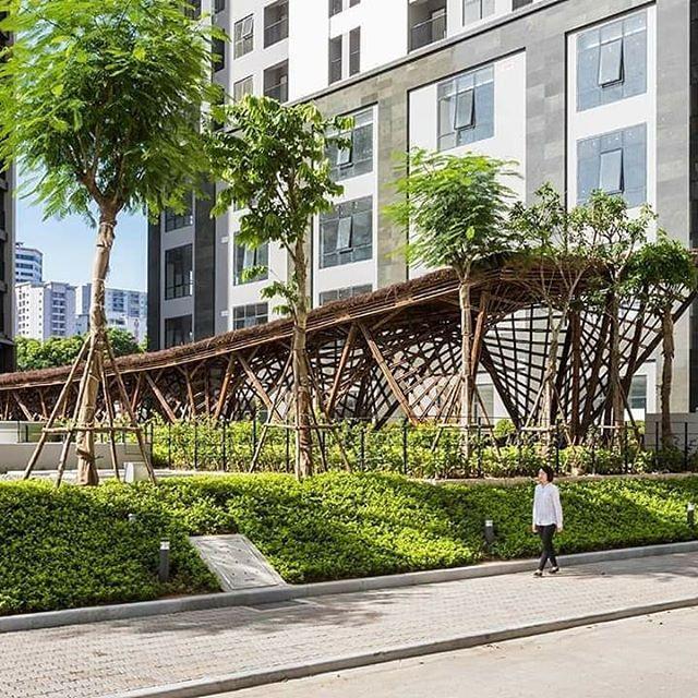 Pabellón De Bambú Vinata Vtn Architects El Pabellón Se