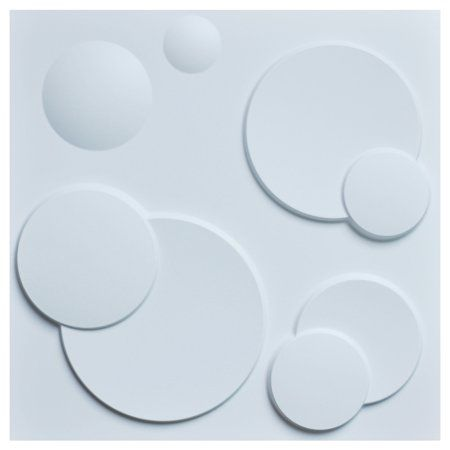 Decorative Pvc 3d Wall Panels White Ring 19 7 Inch X 19 7 Inch 12 Pack Size 19 7 Inch Decorative Pvc 3d Wall Panels White Ring 19 7 Inch X 19 7 Inch 12 Pack Size 7