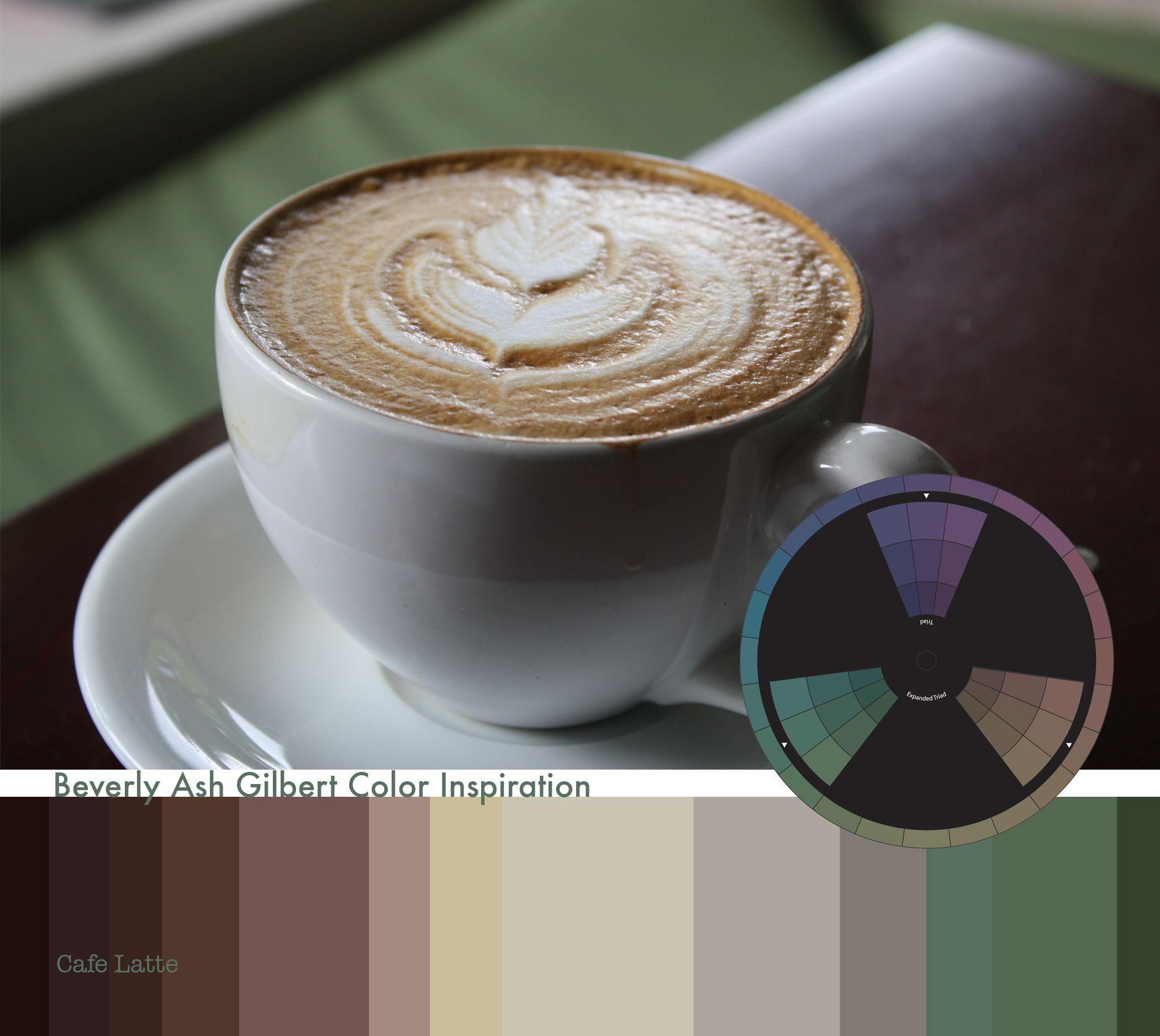 Color Inspiration all around! Artful Color Inspiration, Cafe Latte, #colorinspiration