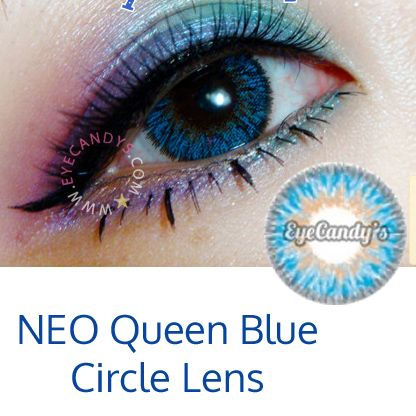3d59451a9c4 Glamorous and fascinating NEO Queen 4-Tone circle lenses from Eyecandys.  FREE shipping worldwide!  coloredcontacts  circlelens  colorlens  eyecandys   NEO ...