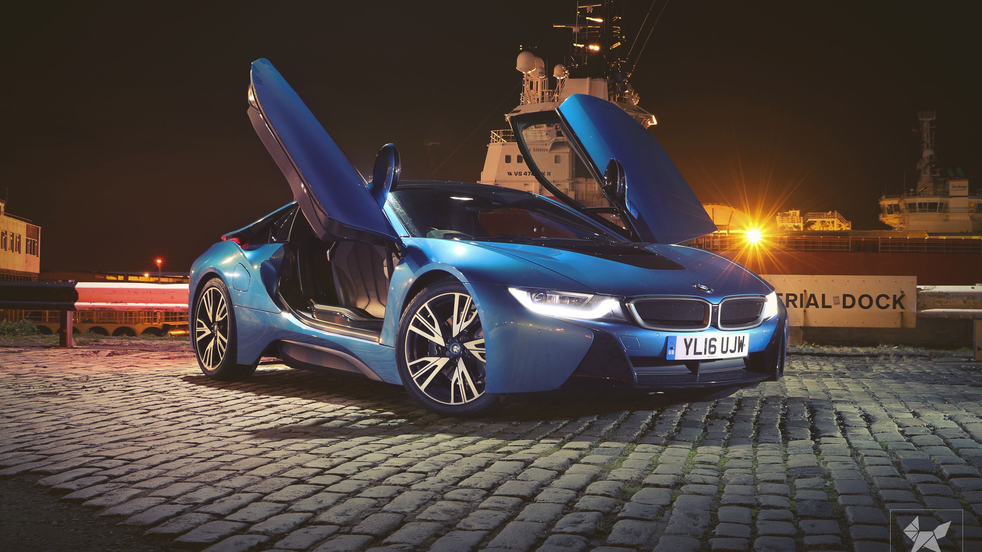 Bmw I8 Doors Up 4k Hd Wallpapers Cars Wallpapers Bmw