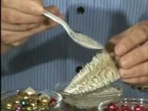 Creating Bottle Brush Christmas tree (Video) I love these