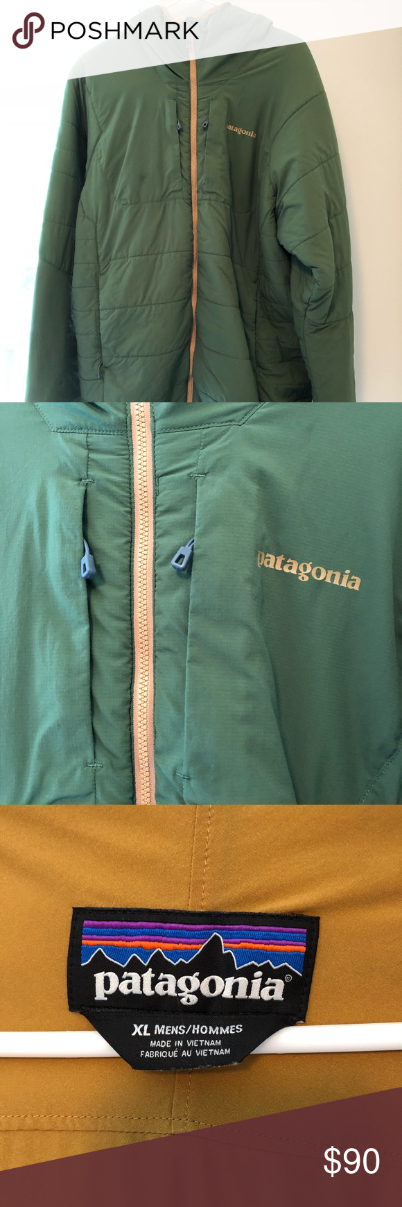 SOLD Men's Patagonia Nano Air Hoody XL insulated