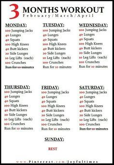 Daily Exercise Plan To Lose Weight