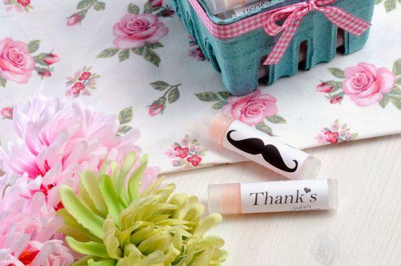 Personalized Baby Shower favors  Lip balm favors by latikasoap, $59.90