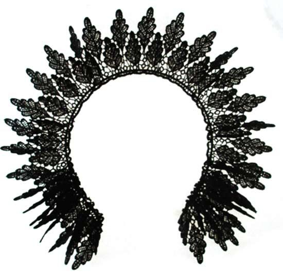 Venise Lace Crown by Kate Betts Hats