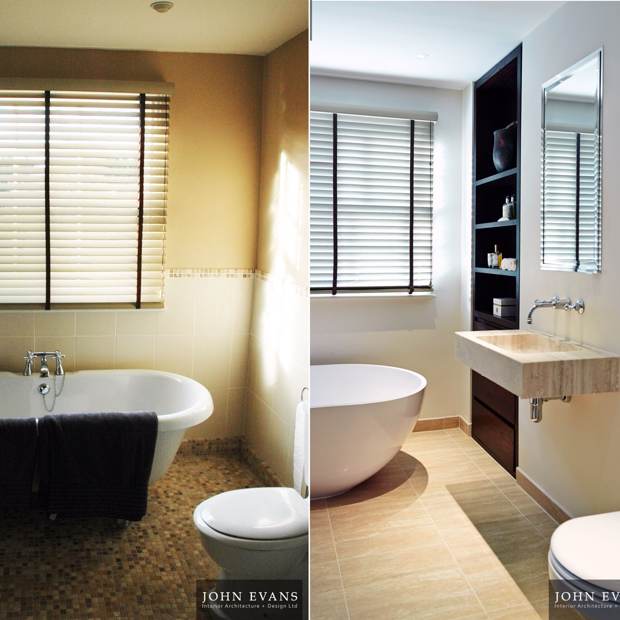 Bathroom Transformation In Regency Townhouse Interior