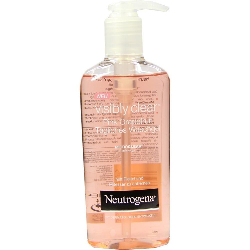 NEUTROGENA Visibly Clear Pink Grape.tägl.Waschgel:   Packungsinhalt: 200 ml Gel PZN: 06908344 Hersteller: Johnson&Johnson GmbH-CHC Preis:…