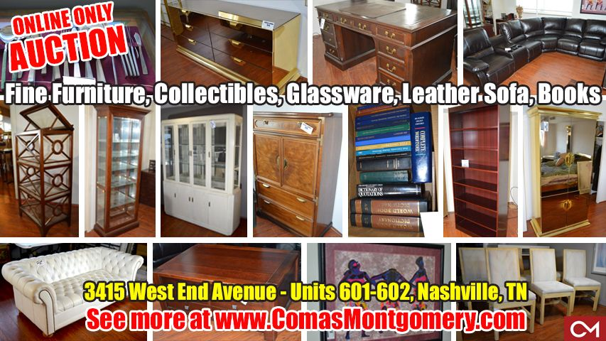 Online Estate Auction Featuring Fine Furniture Collectibles Glassware Purses Leather Sofa And More 3415 West En Fine Furniture Estate Auction Collectibles
