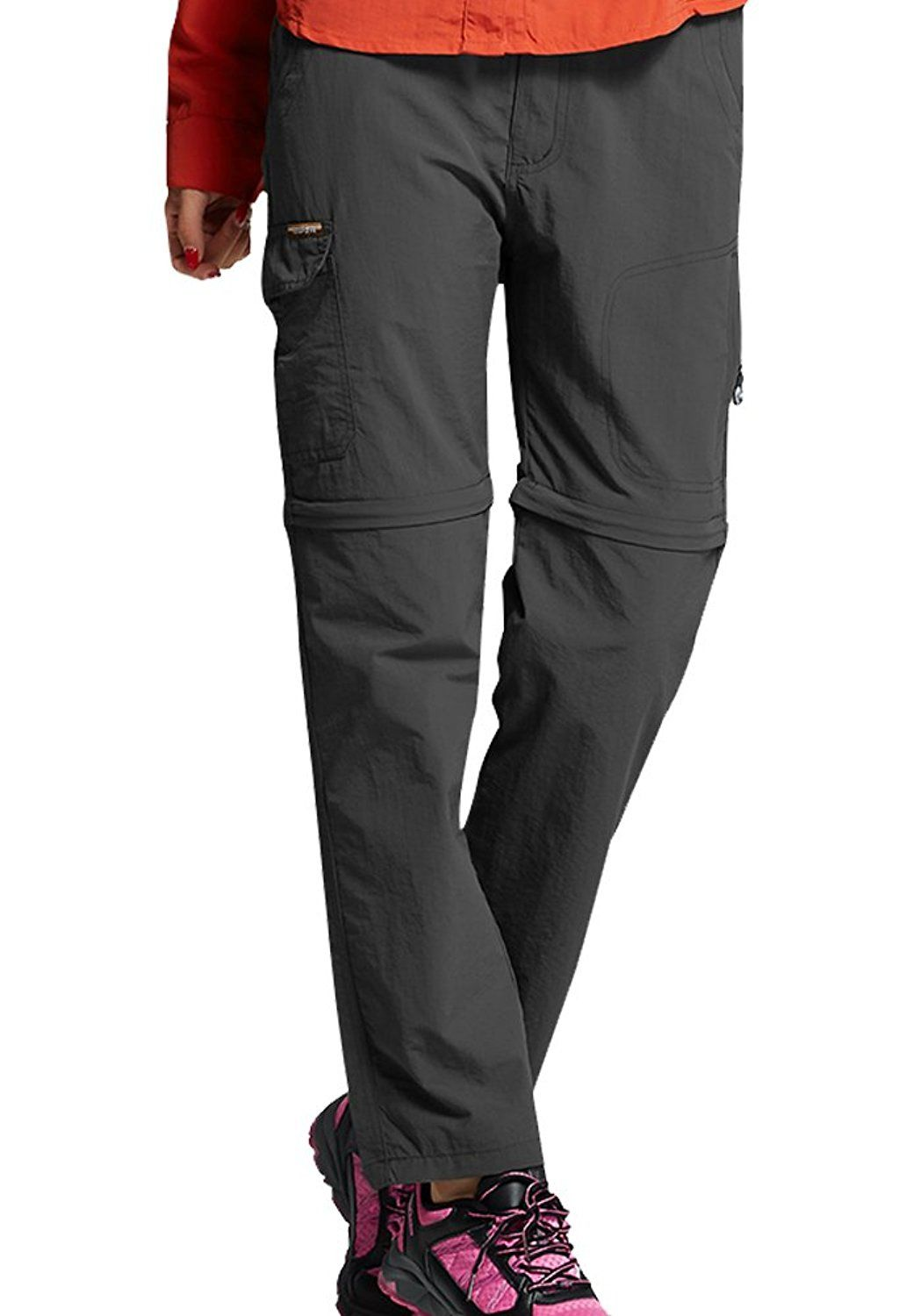 5f4bffbf14a Toomett Women s Outdoor Water-Resistant Lightweight Zip Off Quick Dry  Hiking Convertible Fishing Cargo Pants  4409 8022 – Shop2online best  woman s fashion ...
