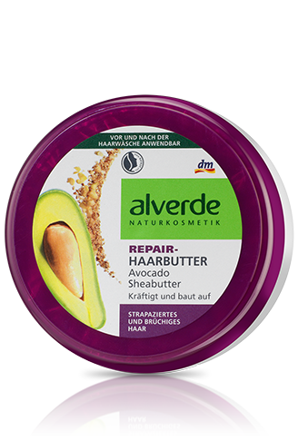 Hair Repair Shea Butter Avocat Dm Alverde Vegane Kosmetik