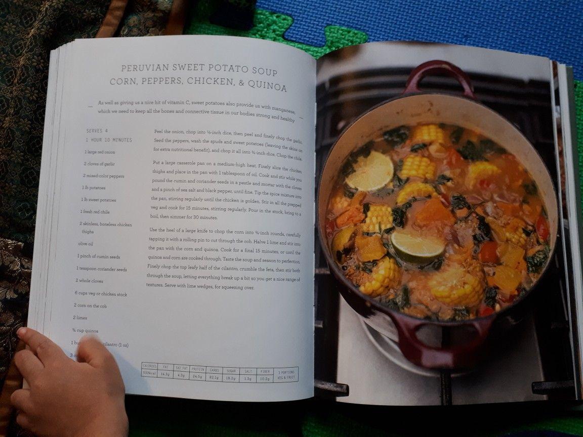 Peruvian Sweet Potato Soup Jamie Oliver Super Food Family