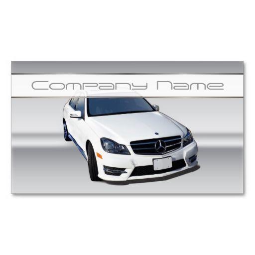 White mercedes benz business cards automotive business for Mercedes benz card