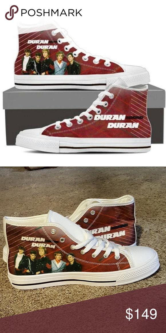 10a6f2fc5b1 Price drop ⬇*NWOT* Duran Duran Ltd Ed High Tops🎶 Limited Edition ...