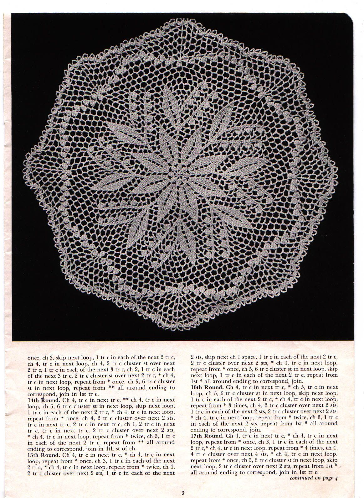 Pin By Donna Jacobsen Westog On Crochet Pinterest Doily Diagram Patrones 2 Patterns Things Your Grandmother Knew Vintage Lily Of The Valley Star Pattern Find This And More
