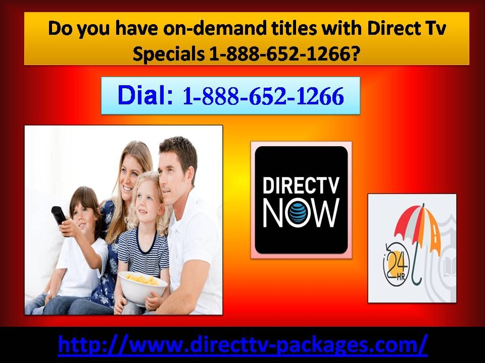 Do you have ondemand titles with Direct Tv Specials 1888