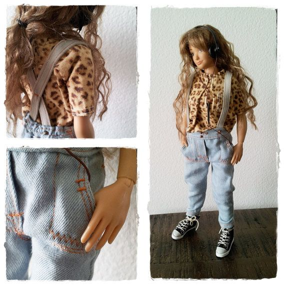 Lammily Doll Outfit / Pants / Doll Fashion / by LammilyOutfits