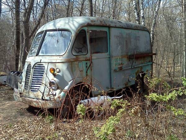 1962 International Metro Van Bus Bread Truck $600 00 | I found this