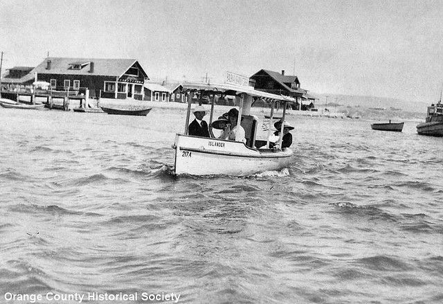 The Islander An Early Ferry In Balboa Bay Balboa