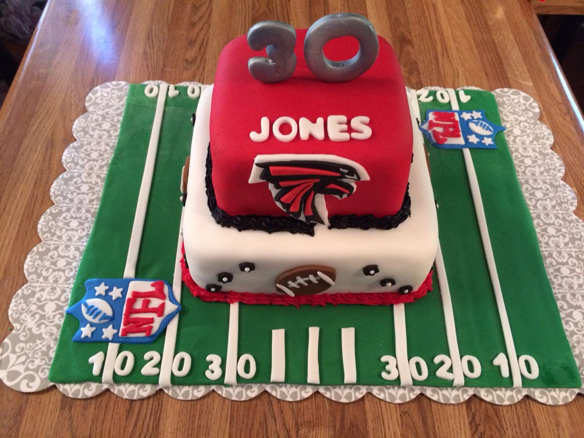 Atlanta Falcons Cake Nfl Cake Flavors Atlanta Falcons Cake Falcons Cake